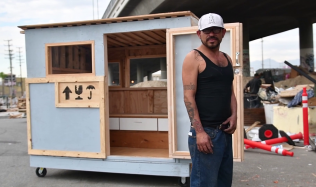 Homeless shelters in Los Angeles by MADWORKSHOP