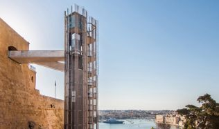 Barrakka Lift in Valletta, Malta by Architecture Project