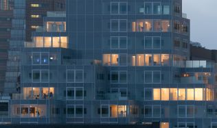 Timmerhuis in Rotterdam, Netherlands by OMA