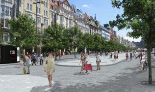 Na Václavském náměstí začne rekonstrukce