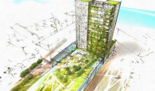 Bratislavský hotel Kyjev dostane novou tvář, developer představil návrhy