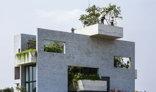 Binh House in Ho Chi Minh City, Vietnam by Vo Trong Nghia Architects