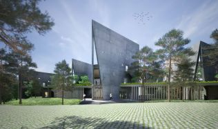 Viettel Offsite Studio in Thạch Thất, Vietnam by Vo Trong Nghia Architects