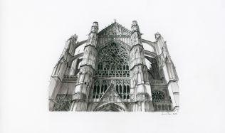 Architekt, v jehož skicách ožívají budovy