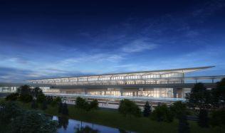 Terminál One na letišti v New Jersey vybuduje Grimshaw