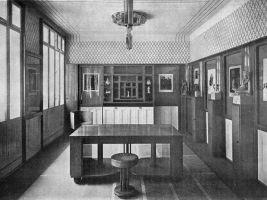 Štencův dům – původní interiéry pracovny Jana Štence