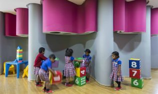 Planet Kids School in Bengaluru, India by Cadence Architects