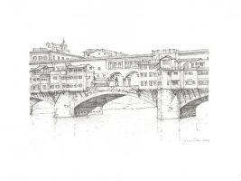zdroj lorenzoconcas.com/ Popisek: Most Ponte Vecchio ve Florencii