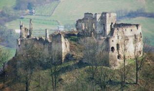 Považský hrad nedaleko Považské Bystrice: První etapa obnovy je na světě