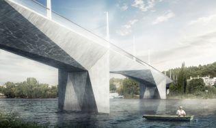 Praha bude mít nový most. Propojí Prahu 4 a 5