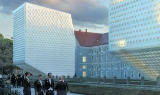 Praha by už za zhruba šest let mohla mít další netradiční stavbu