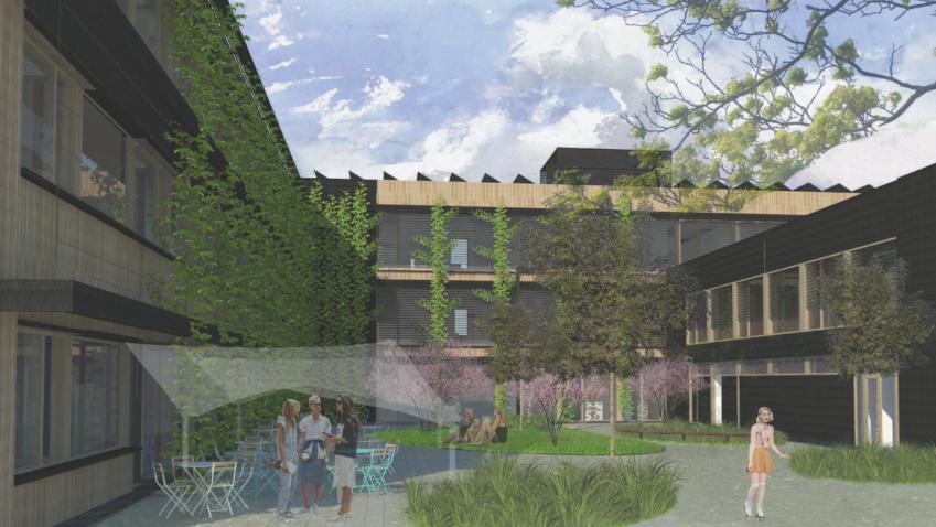 Praha přestavuje učiliště na inteligentní budovu snulovou energetickou náročností