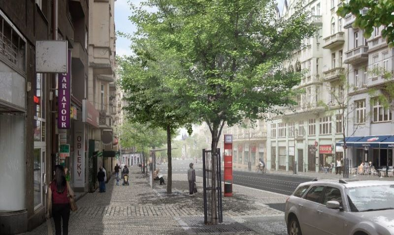 Praha schválila plán rekonstrukce Vinohradské