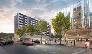 Pražané mohou vyjádřit svůj názor na návrh proměny hotelu InterContinental a jeho okolí