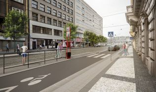 Pražská Revoluční ulice se stane novou městskou třídou