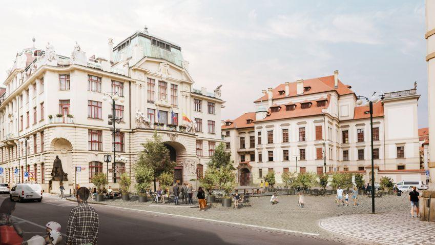 Pražští radní schválili novou podobu Mariánského náměstí v Praze