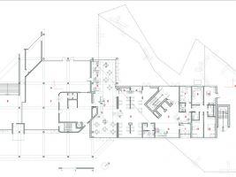 zdroj ELASTICOSPA Popisek: Hotel 1301 Inn v Itálii, plán budovy