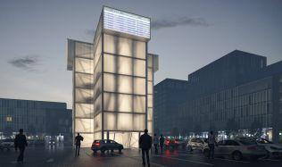 Problém s nedostatkem místa ve městech může vyřešit vertikální systém parkování