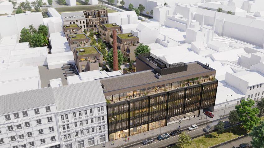 Projekt Astrid Offices společnosti UBM Development zahájil stavební práce