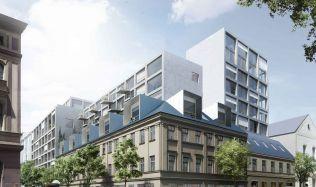 Projekt BLOCK B je v rukách AFI Europe. Slibuje moderní prostory pro bydlení a práci