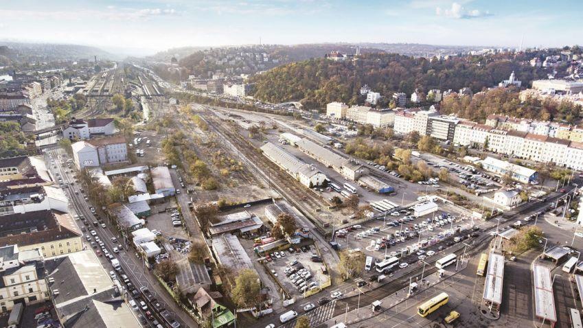 Projekt Smíchov City: Stále není dořešena doprava v oblasti výstavby