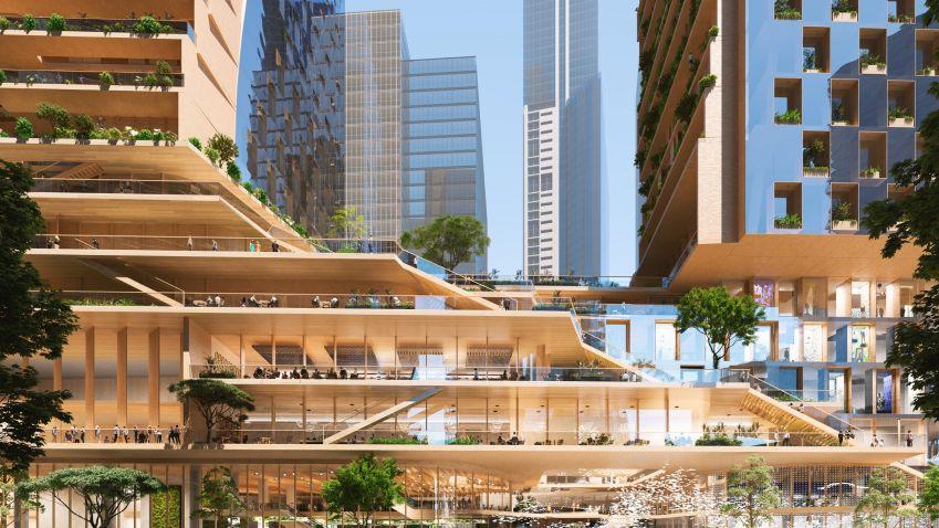 Projekt Southbank bude zelenou páteří Austrálie
