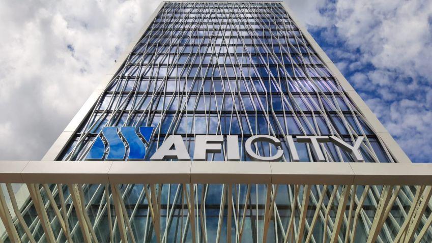 První kancelářská budova v areálu AFI City na Vysočanech je zkolaudována
