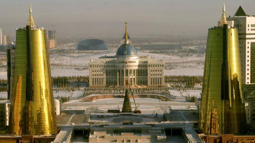 Psí miska i sklenice na pivo. Podívejte se na moderní stavby kazašské Astany