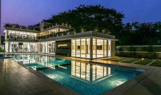 Raheja Ridgewood Clubhouse in Mumbai, India by GA design