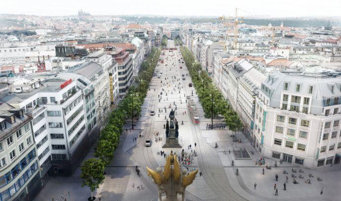 Rekonstrukce Václavského náměstí v Praze se prodraží o více jak 100 milionů Kč