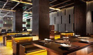 "Restaurace ""Chi-Q"" v Šanghaji od Neri&Hu"