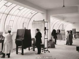 Štencův dům - fotografie střešních fotoateliérů