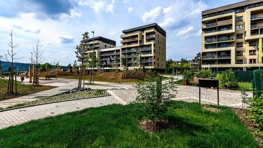 Rezidence Modřanka získala certifikaci BREEAM. Ve svých zdech skrývá perlátory, rekuperaci nebo duální splachování