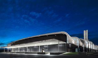 Sakthi Industrial Building near Águeda, Portugal by Alexandre Burmester