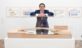 Santiago Calatrava v Praze – záznam tiskové konference