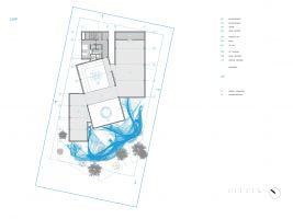 zdroj R/FRM Popisek: Nákres pavilonu