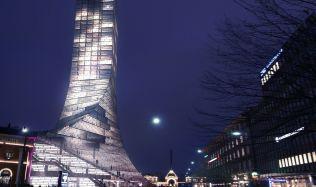 Scala Tower in Copenhagen, Denmark by BIG