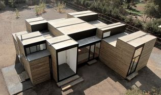 SIP M3 House blízko Santiaga de Chile od HSU•Rudolphy Arquitectos
