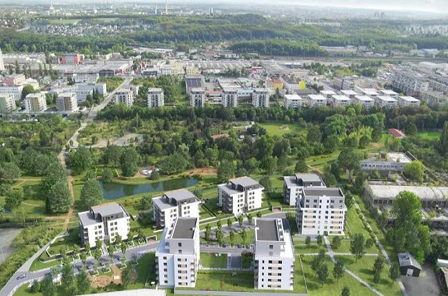Skanska by měla dokončit novou čtvrť ve Vysočanech do roku 2023