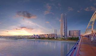Slovensko možná nebude mít svůj první mrakodrap, proti je starosta Ružinova