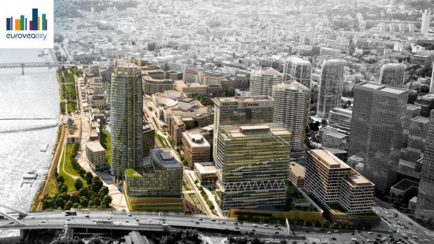 Slovenský projekt Eurovea City se začíná klubat na svět