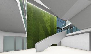 Soutěžní návrh na proměnu mrakodrapu N-Tower. Hlasujte pro návrh autorů Činčalová, Osipava!
