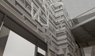 Soutěžní návrh na proměnu mrakodrapu N-Tower. Hlasujte pro návrh autorů Lišuchová, Kováčik!