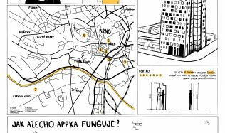 Soutěžní návrh na proměnu mrakodrapu N-Tower. Hlasujte pro návrh autorů Machú, Varga!