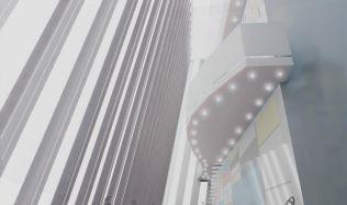 Soutěžní návrh na proměnu mrakodrapu N-Tower. Hlasujte pro návrh autorů Rejchl, Petečuk!