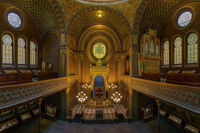 Španělská synagoga v Praze bude uzavřena. Čeká ji modernizace