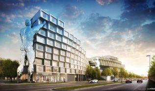 Spojení architektury se současným uměním, projekt Fragment nabídne 140 nájemních bytů