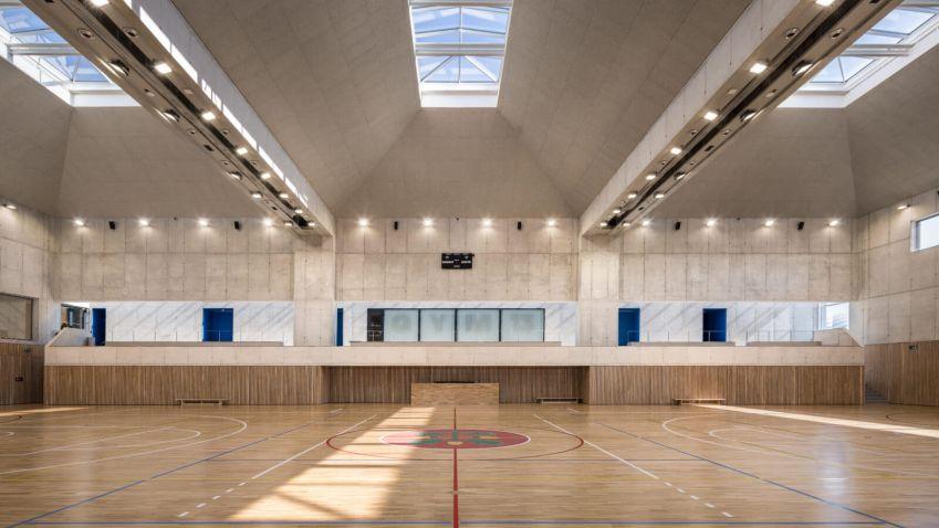Sportovní hala v Modřicích zabodovala v prestižní soutěži Grand Prix Architektů