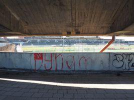 zdroj Veronika Indrová Popisek: Stadion aktuálně chátrá