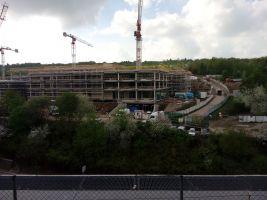zdroj Tomáš Nývlt Popisek: Hrubá stavba nového komplexu ČSOB
